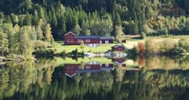Vannspeil av Jonsborg